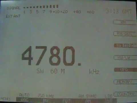 Radio Djibouti,  4780 kHz (Etón E1XM)