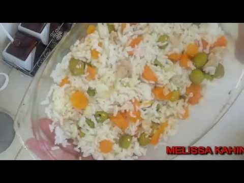 melissa kahina MON RIZ BLANC الطريقة المضمونة  للحصول على ارز ابيض  خفيف  وناجح والبنة خيااااااال ى