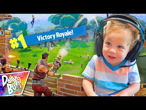 Finn Plays Fortnite Battle Royale! 💥 (HILARIOUS!)