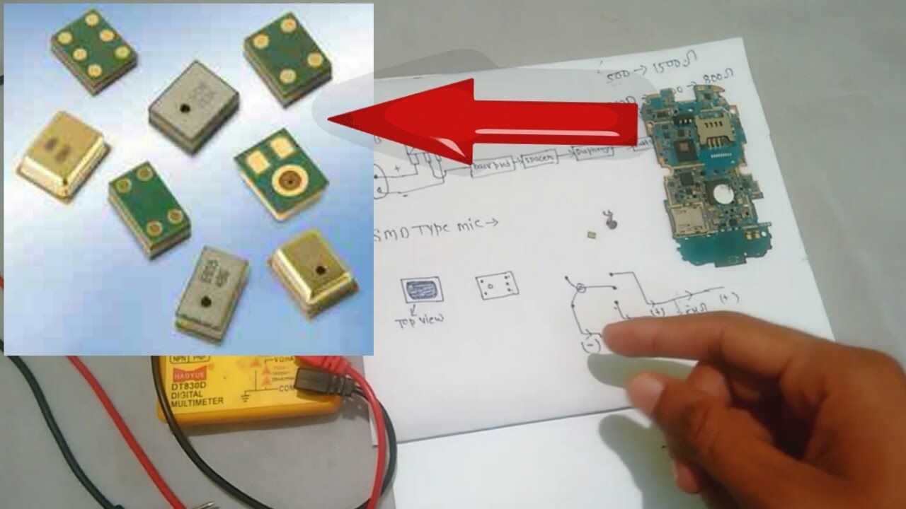 SMD mic   deeply explained bypass configuration of SMD mic    china  universal mic VS SMD mic hindi