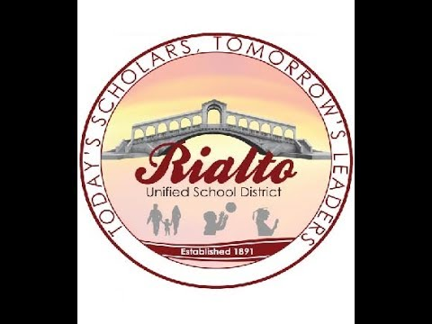 Live Meeting of the Rialto Unified School District  Board of Education 2/21/17