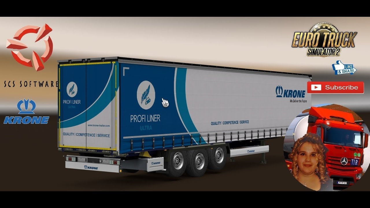 euro truck simulator 2 scs news a visit from krone. Black Bedroom Furniture Sets. Home Design Ideas