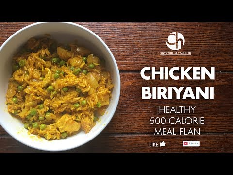 EASY HEALTHY Chicken Biriyani - UNDER 500 CALORIES