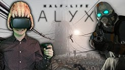 Wie läuft Half-Life: Alyx auf der Oculus Quest? Der Test mit Oculus Link Kabel und Touch Controller!