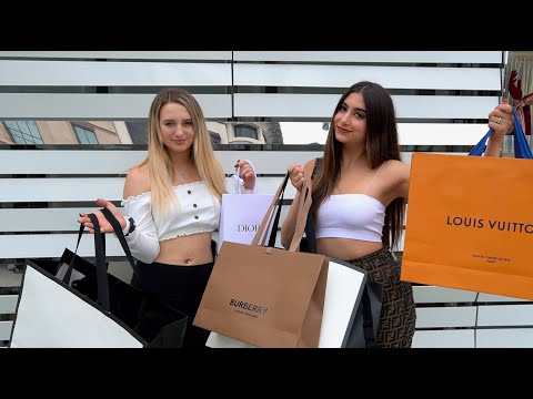 $10,000 LUXURY SHOPPING SPREE WITH A SUBSCRIBER | Nicolette Gray