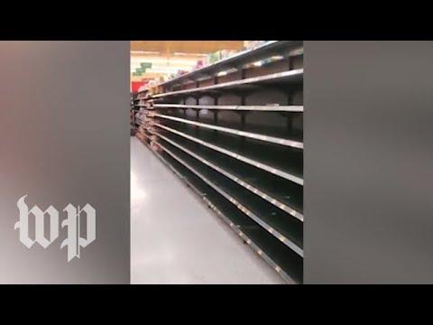 Long lines, empty shelves as Florida prepares for Hurricane Dorian