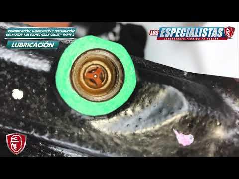 Lubricacion, Motor Ecotec 1 8 Sonic, Trax, Cruze