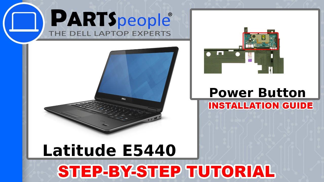 Dell Latitude E5440 Power Button Circuit Board How-To Video Tutorial