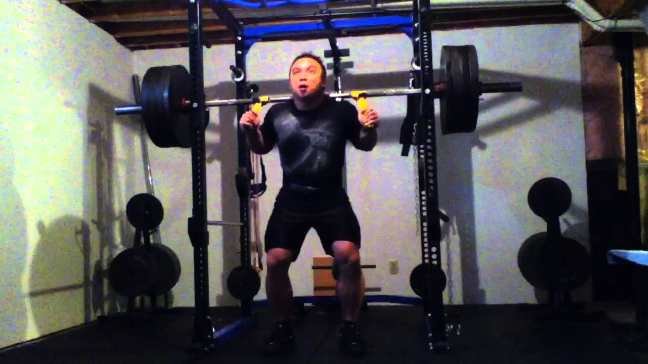 Squat With Straps 415lbs X 3 Youtube