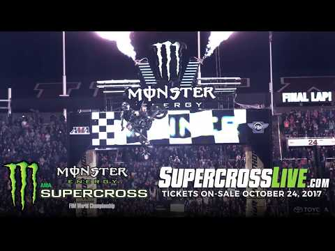 2018 Schedule: Monster Energy Supercross Full Video