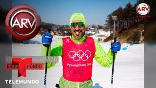 Mexicanos en los Juegos Olímpicos de Invierno y su peculiar uniforme | Al Rojo Vivo | Telemundo