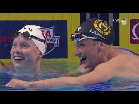 Teammates Annie Lazor And Lilly King Qualify, Share Emotional Moment In Women's 200m Breaststroke
