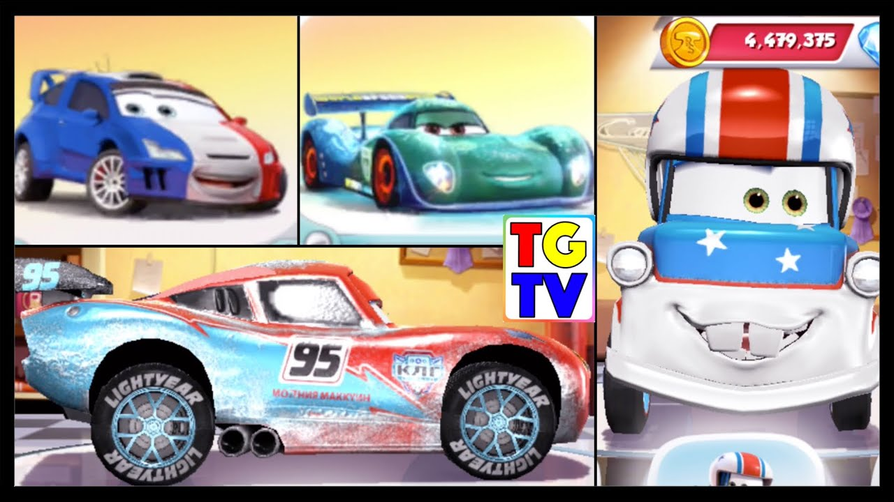 Cars Games Lightning Mcqueen Race