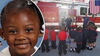5-летняя малышка спасла слепую бабушку из горящего дома