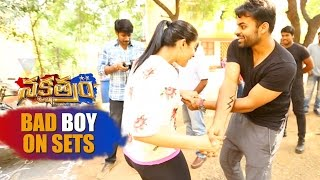Who is the Bad Boy On the Sets of Nakshatram - Prakash Raj, Sandeep Kishan, Sai Dharam Tej, Regina