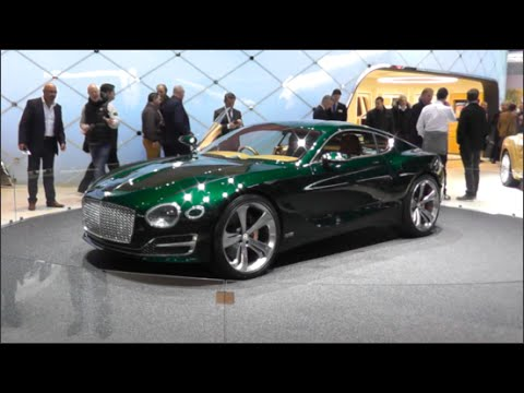 Bentley Exp 10 Speed 6 Concept 2015 In Detail Review Walkaround