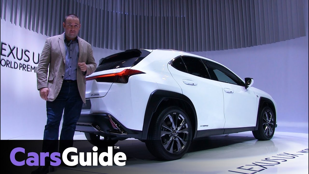 Lexus UX 2019 revealed at the Geneva motor show - Dauer: 79 Sekunden
