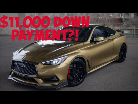 How Much Did I Spend On My Q60 Red Sport 400