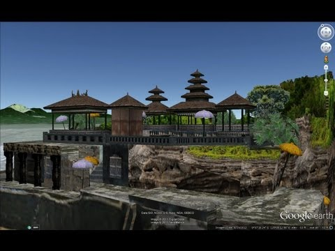 HISTORICAL PLACES OF INDONESIA IN GOOGLE EARTH PART THREE ( 3/5 )