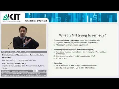 Net Neutrality: An Economist's Perspective