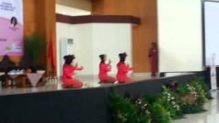 Tari sambut persembahan dari Bangka Belitung