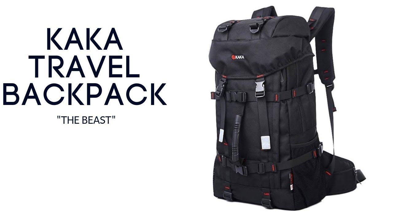 KAKA Travel Backpack Laptop Bag Review -