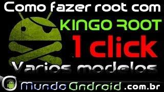 Como fazer root em vários modelos android, Kingo Root. Galaxy Grand Duos I9082L 4.2.2