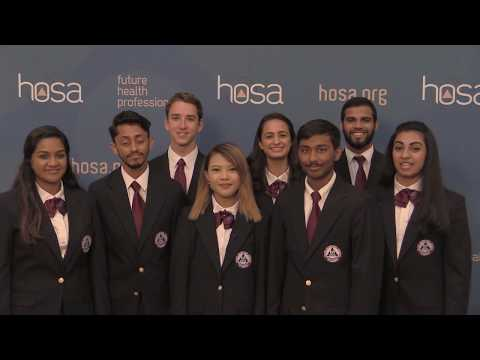 2017-2018 HOSA Officer Introduction