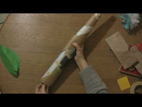 Paper Craft Projects How To Make A Palm Tree Using