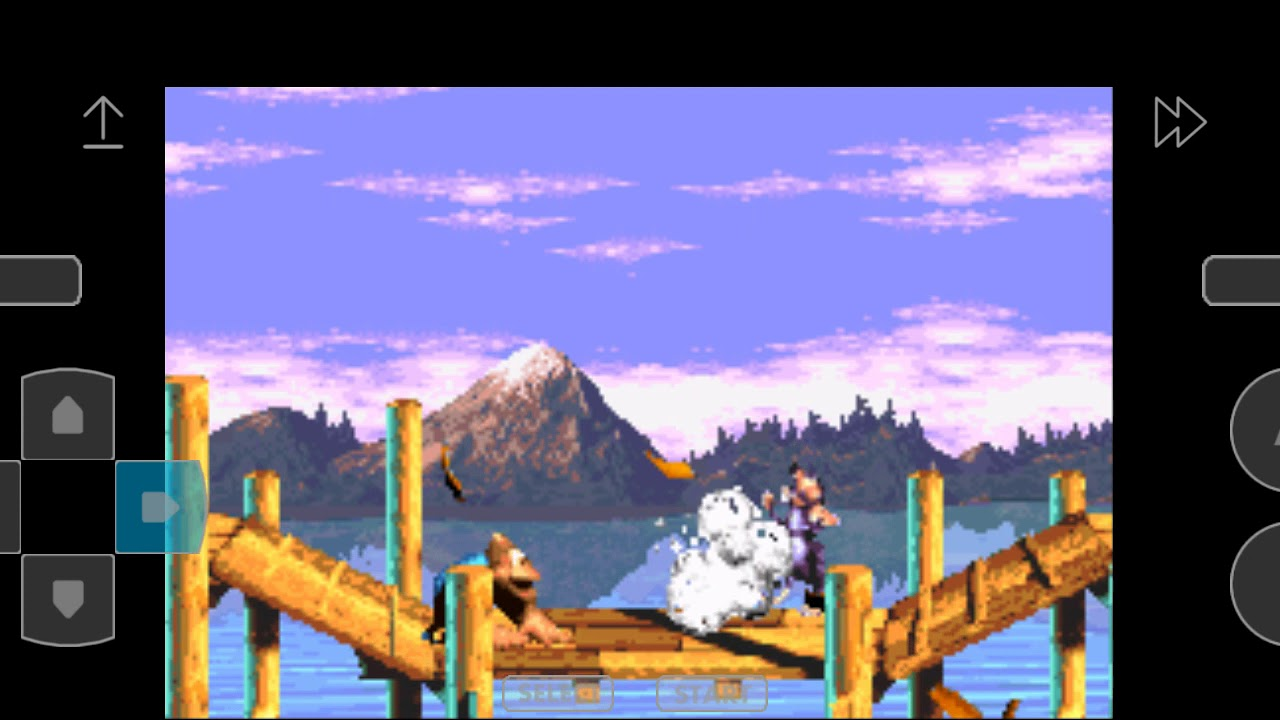 Donkey Kong country 3 game over - YouTube