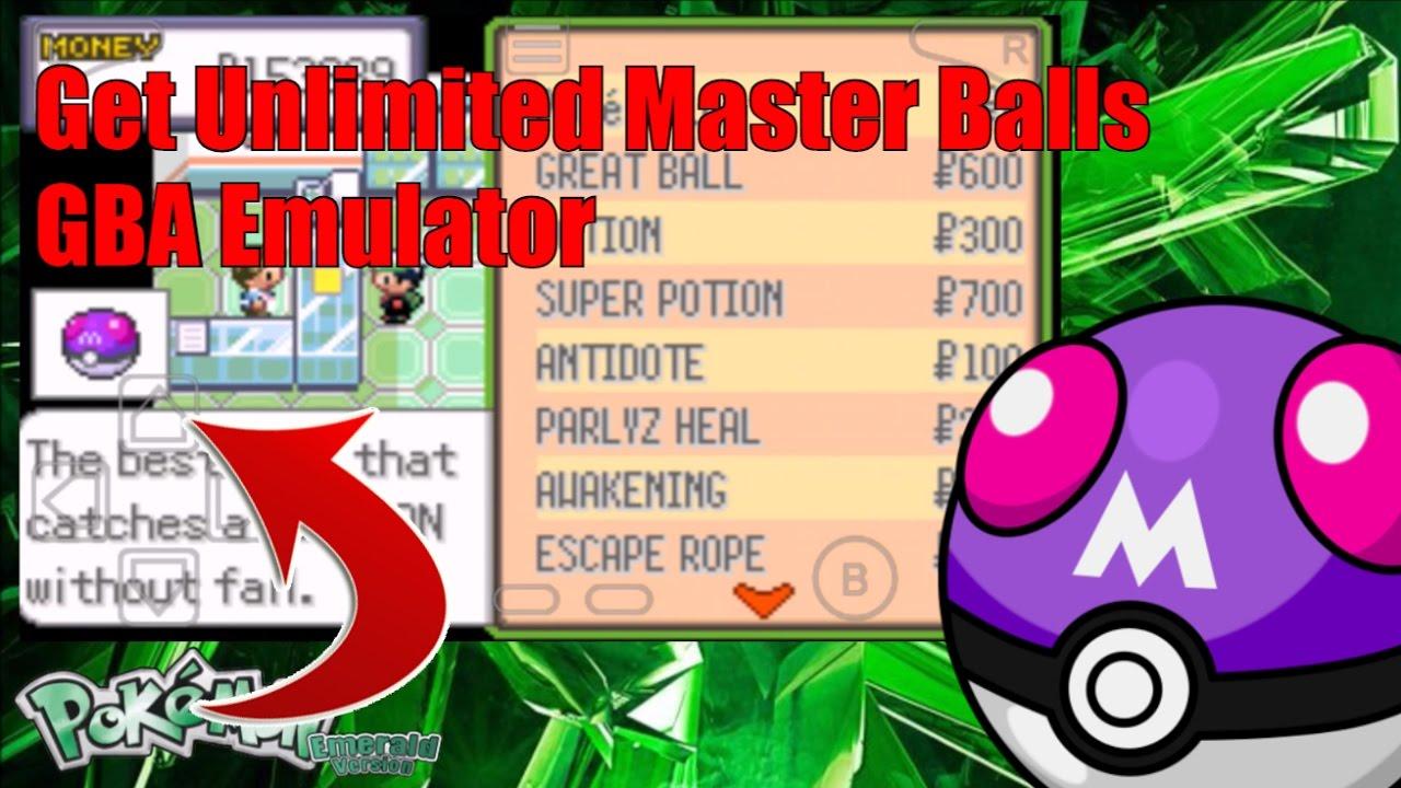 my boy free gba emulator pokemon emerald cheat codes