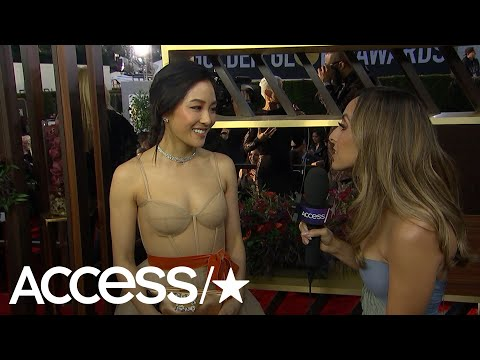 Constance Wu Dishes On How She Chose Her Vera Wang Dress! | Access