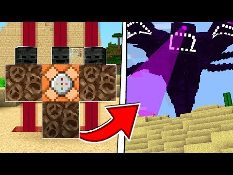 SUMMONING THE WITHER STORM IN MINECRAFT!?