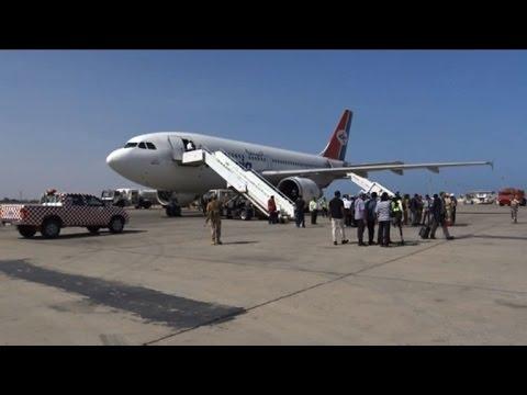 First civil flight in months reaches Yemen's Aden