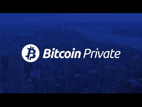 Bitcoin Private (BTCP) - Private, decentralized, fast, open source,  community-driven coin.