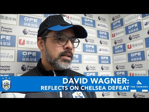WATCH: David Wagner on Chelsea defeat