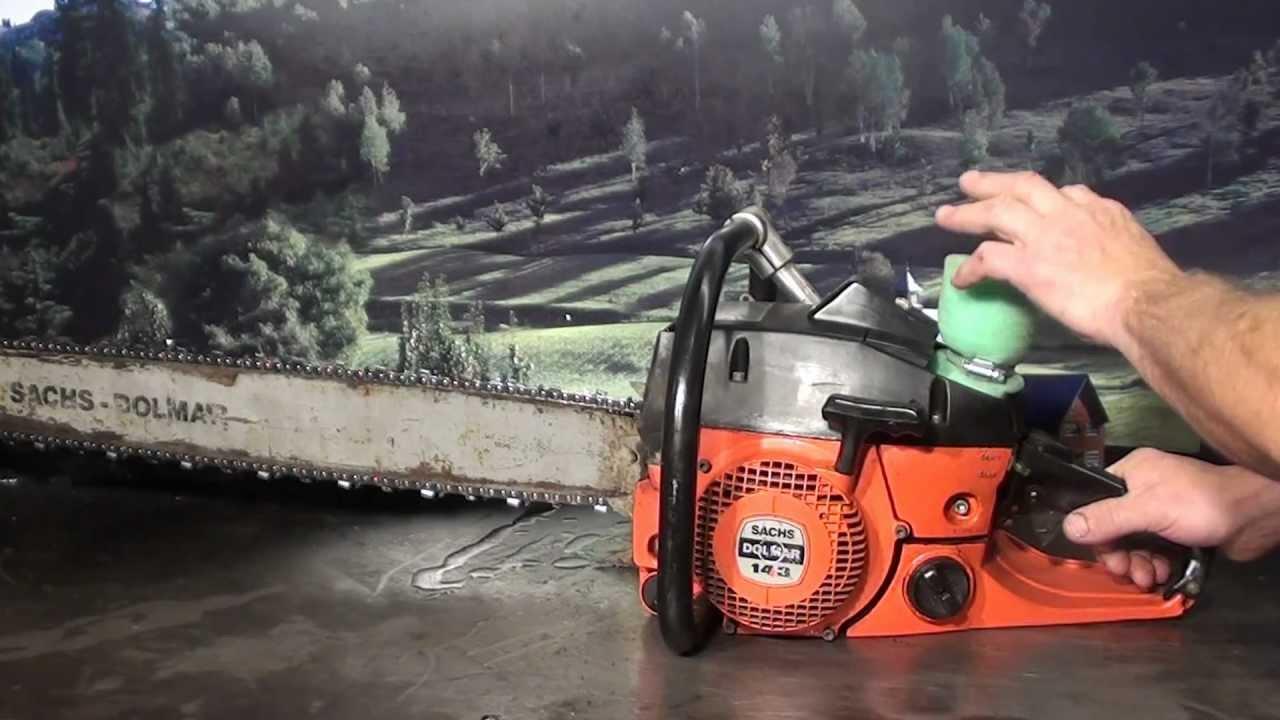 The Chainsaw Guy Shop Talk Sachs Dolmar 143 6 4 Youtube 31ah64fg700 Parts List And Diagram 2012 Ereplacementpartscom