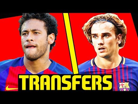 NEYMAR WANTS TO GO BACK TO BARCELONA? Confirmed Transfers & Rumours (FIFA 18)