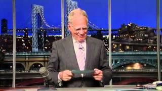 Mooch Does Letterman