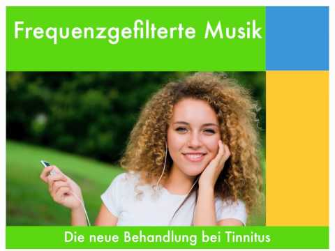 Frequenzgefilterte Musik bei Tinnitus