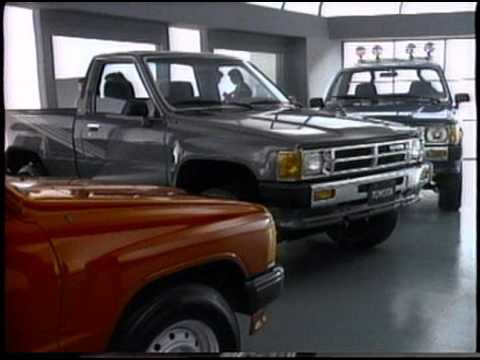 Southern California Toyota Dealers I'll Take It Truck 30 sec ST TV 87 126 7:8:87 DJMC Red Car