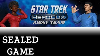 Heroclix Gameplay - Star Trek Away Team - Happy Little Heroclix Guest Star!