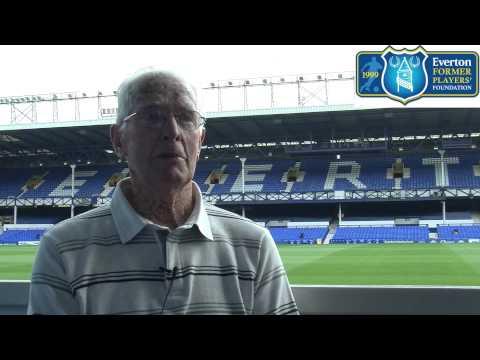 Everton Former Players' Foundation  Goodison Park hero Tony McNamara