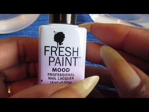 Fresh Paint Mood Nail Polish Review