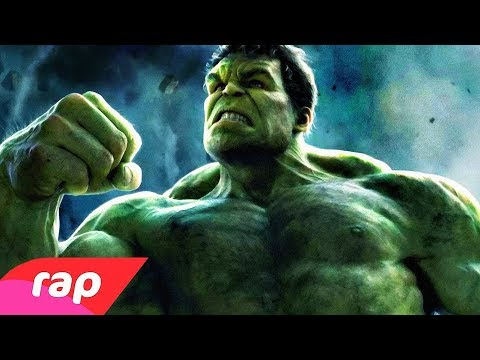 Rap do Hulk - TÔ SEMPRE COM RAIVA | NERD HITS