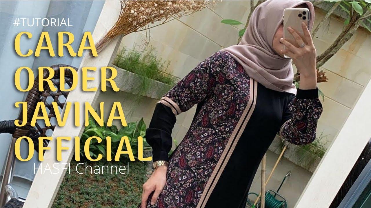 Tutorial Cara Order Javina Official Local Brand Youtube