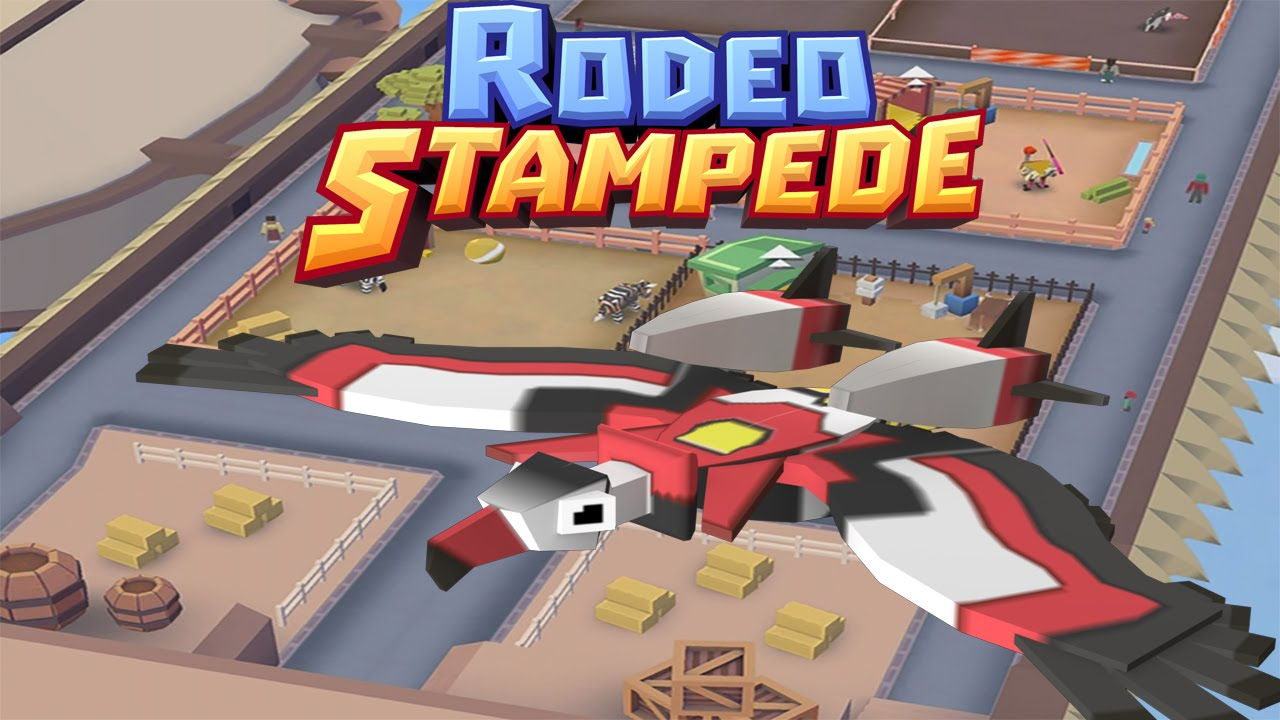 Rodeo Stampede Sky Zoo Safari Catching All The Animals