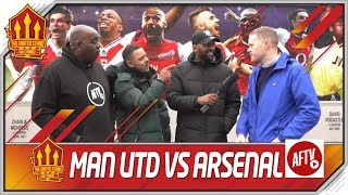 Arsenal vs Man Utd Combined 11 With AFTV
