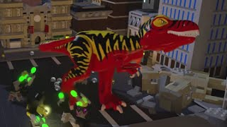 LEGO Batman 3: Beyond Gotham - All 16 Plastic Man Red Brick Transformations