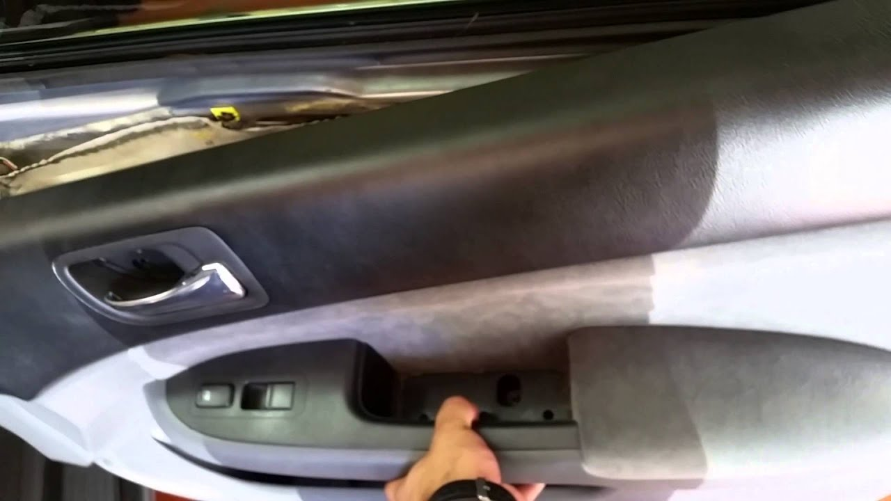 03 07 Honda Accord Door Lock Actuador Youtube
